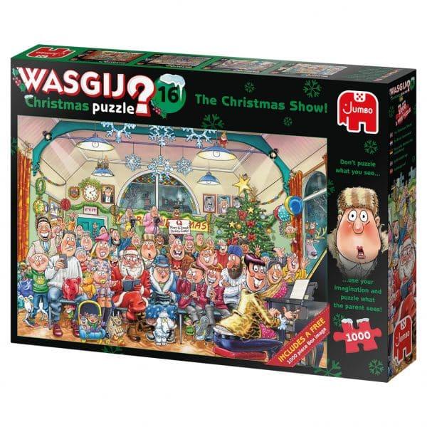 Wasgij Christmas Kerst Show Jumbo