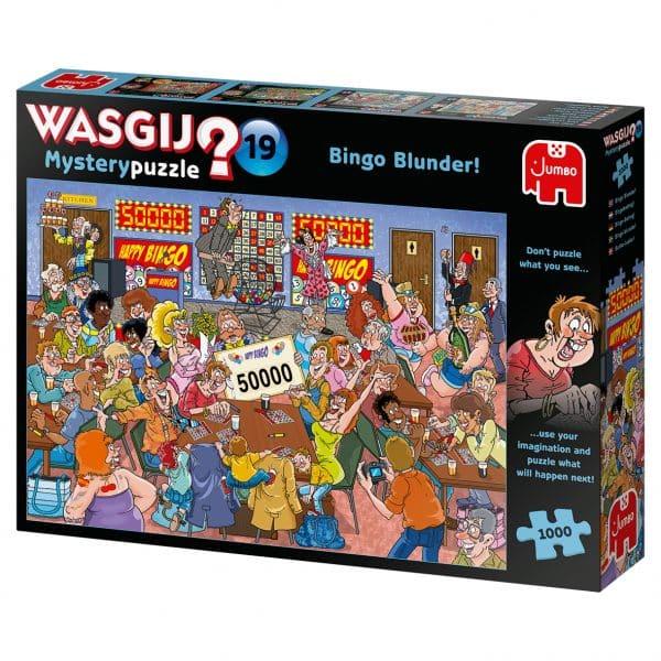 Wasgij Mystery 19 Bingobedrog! Jumbo 19182 Int 3