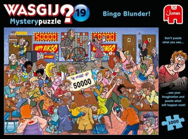 Wasgij Mystery 19 Bingobedrog! Jumbo 19182 Int 4