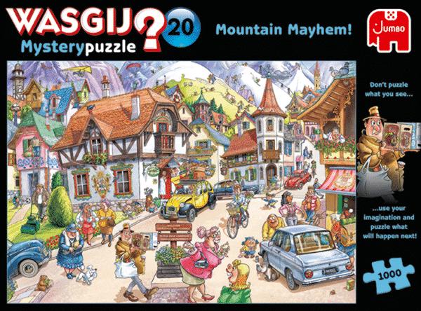 Wasgij Mystery 20 Vakantie In De Bergen!