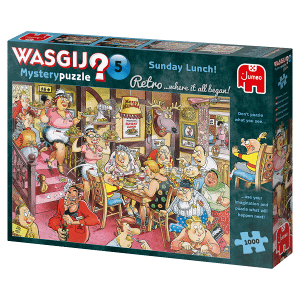 Wasgij Retro Mystery 5 Zondagse Lunch!