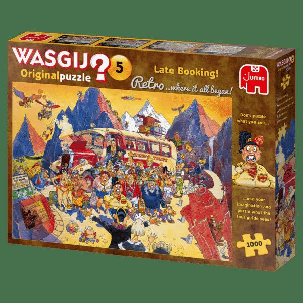 Wasgij Retro Original 5 Last Minute Boeking!