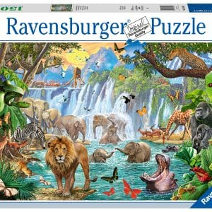 Waterval In De Jungle Ravensburger164615 02 Legpuzzels.nl