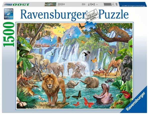 Waterval In De Jungle Ravensburger164615 02 Legpuzzels.nl