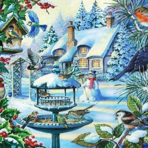 Winter Birds The House Of Puzzles Legpuzzel 5060002002247 1.jpg