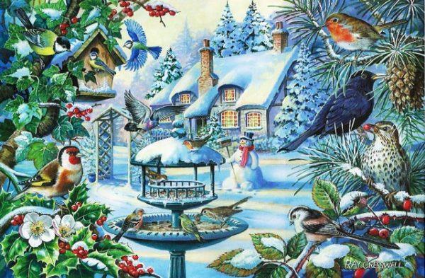 Winter Birds The House Of Puzzles Legpuzzel 5060002002247 1.jpg
