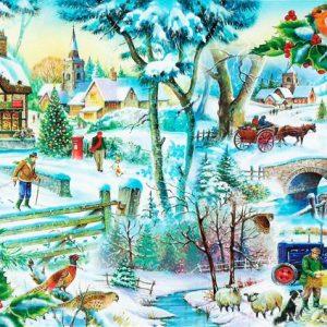 Winter Wonderland The House Of Puzzles Legpuzzel 5060002002148 1.jpg