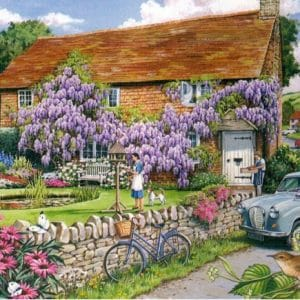 Wisteria Cottage The House Of Puzzles Legpuzzel 5060002003473 1.jpg