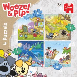 Woezel Pip Jumbo Kinderpuzzels