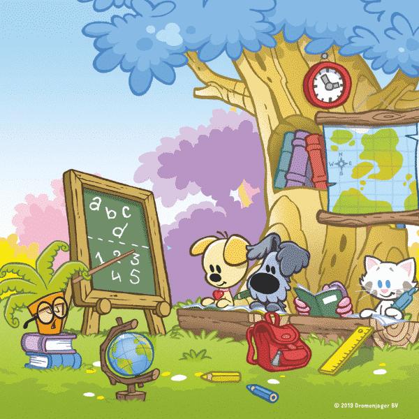 Woezel Pip Jumbo School Kinderpuzzels