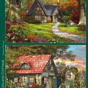 Woodland Cottages Jumbo11294 01 Legpuzzels.nl