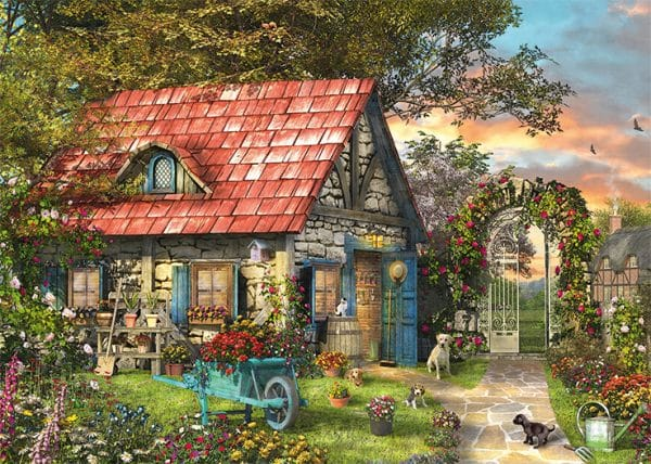Woodland Cottages Jumbo11294 03 Legpuzzels.nl