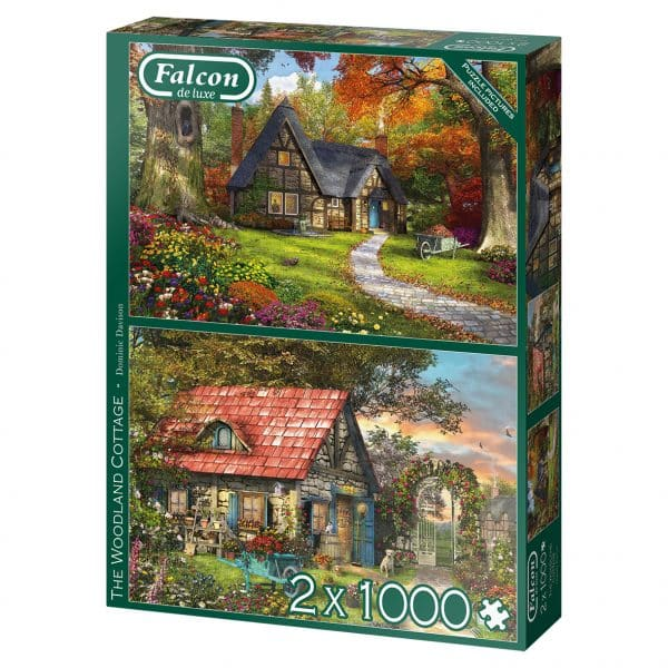 Woodland Cottages Jumbo11294 04 Legpuzzels.nl