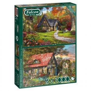 Woodland Cottages Jumbo11294 05 Legpuzzels.nl