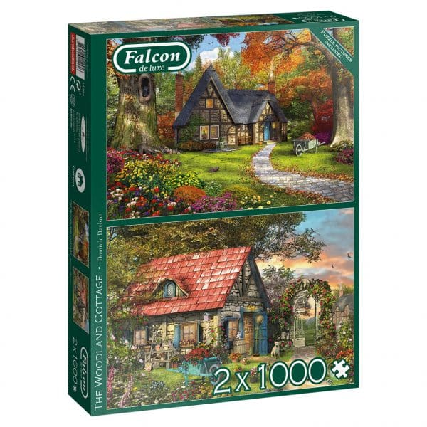 Woodland Cottages Jumbo11294 05 Legpuzzels.nl