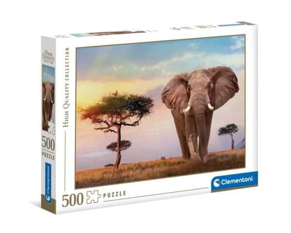 afrikaanse zonsopgang clementoni35096 02 legpuzzels.nl