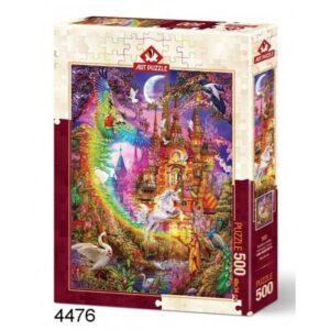 Art Rainbow Castle Legpuzzels