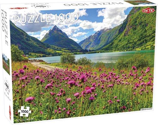 Bergsheimsvatnet TicTac Puzzel