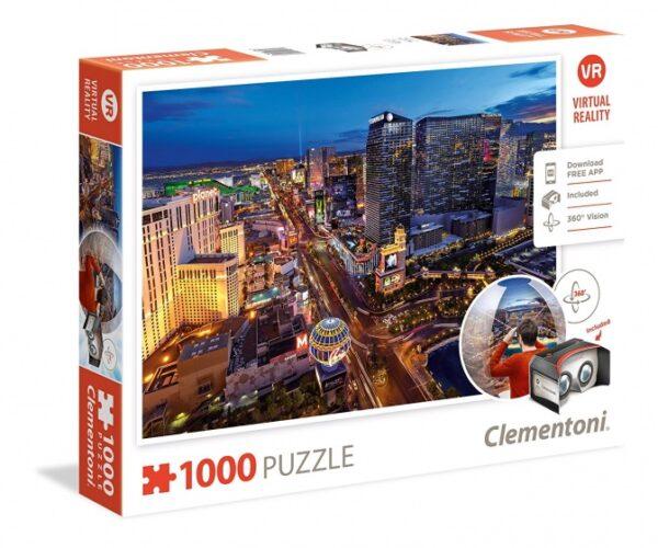 Clementoni Las Vegas Virtual Reality Legpuzzels