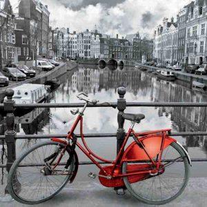 rode fiets amsterdam