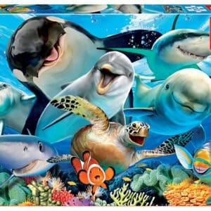 educa18062-onderwater-selfie-100-legpuzzels.nl