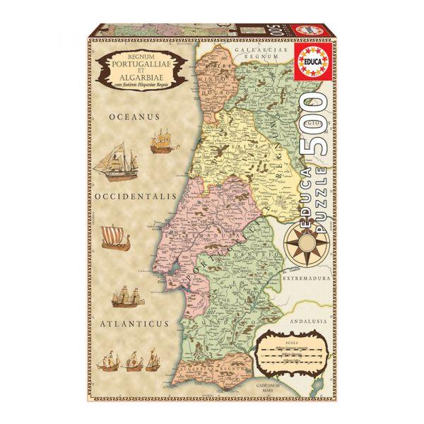 educa puzzel portugal landkaart