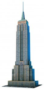 3d puzzel new york empire state building