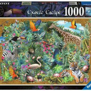 Exotisch Plaatje Puzzel 1000 Stukjes