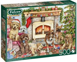 Falcon Christmas Puppies Jumbo 11310
