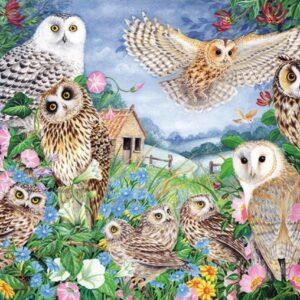 falcon owls in the wood 11286 jumbo 1