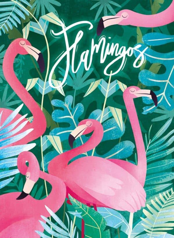 flamingos clementoni35101 01 legpuzzels.nl