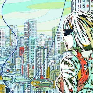 stad tekening