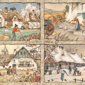 oude tekeningen middeleeuwen