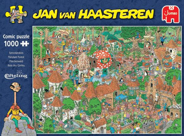 jumbo20045 jan van haasteren het sprookjesbos de efteling 2