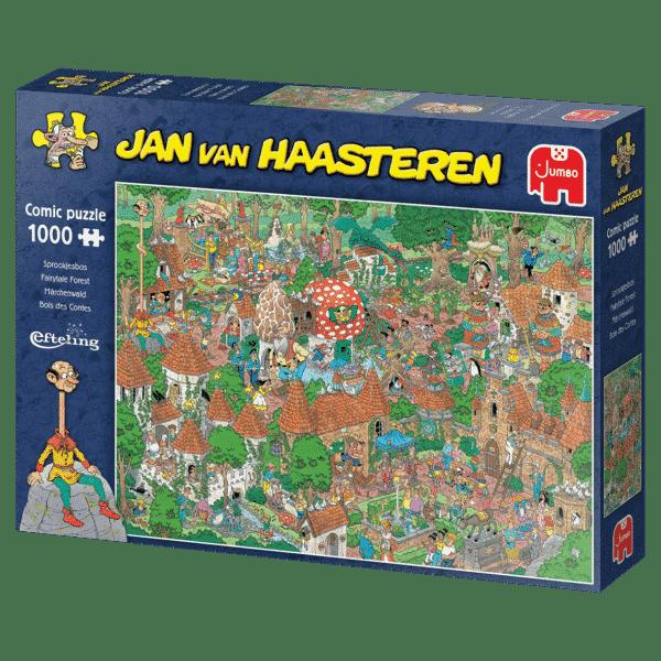 jumbo20045 jan van haasteren het sprookjesbos de efteling 4