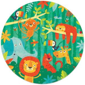 jungle cirkelpuzzel met grote stukjes educa18906 2