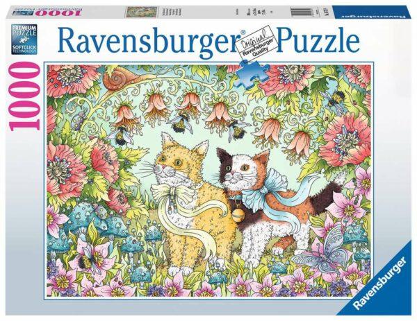 Kattenvriendschap Legpuzzels