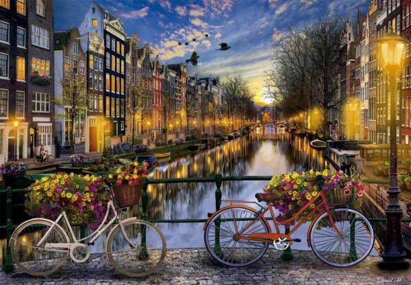kanaal fietsen