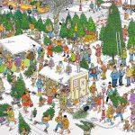 Jan van Haasteren nieuwe puzzels: Volkstuintjes en Kerstbomenmarkt
