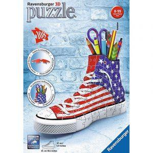 3d puzzel schoen sneaker