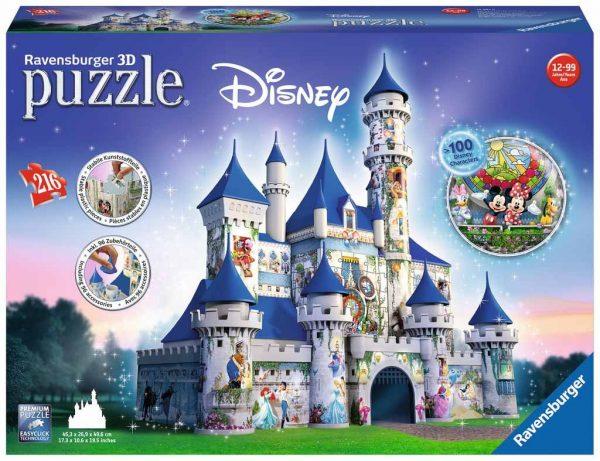 disney 3d puzzel ravensburger kasteel mickey mouse