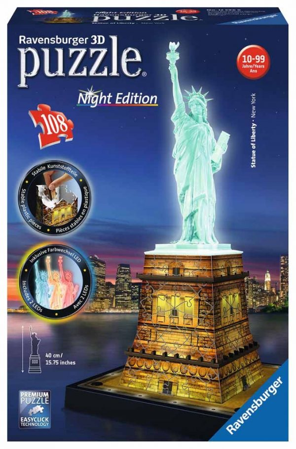 3d puzzel statue of liberty new york