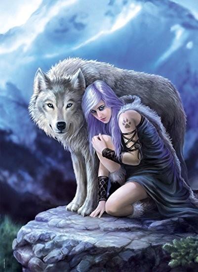 anne stokes wolf