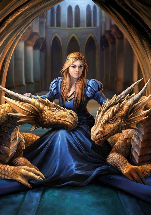 anne stokes prinses draken