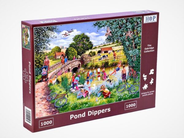 pond dippers legpuzzels.nl