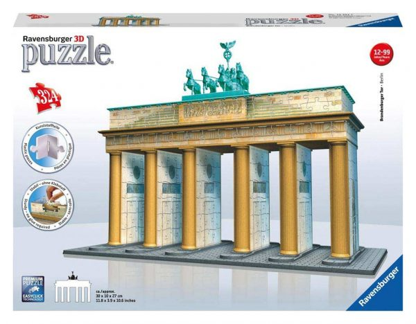3d puzzel brandenburger toren berlijn