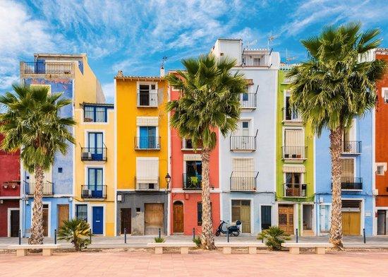 Spanje Legpuzzel