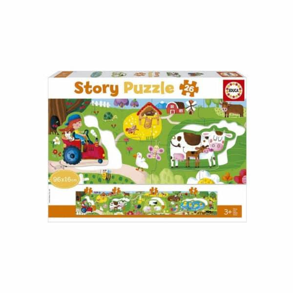 story puzzel de boerderij