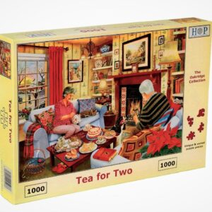 tea for two house of puzzles legpuzzels.nl