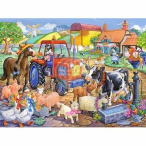 The House Of Puzzles Xxl Pieces Farm Friends